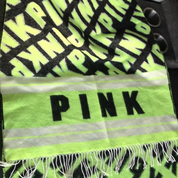 PINK Logo Scarf